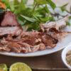 Thịt bò hun khói Măng Đen